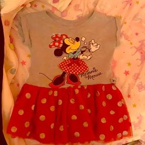 Toddler Disney Minnie Mouse dress